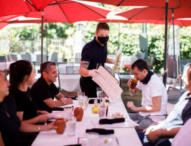 Outdoor dining and restaurant in San Joseare the perfect place for celebrating life